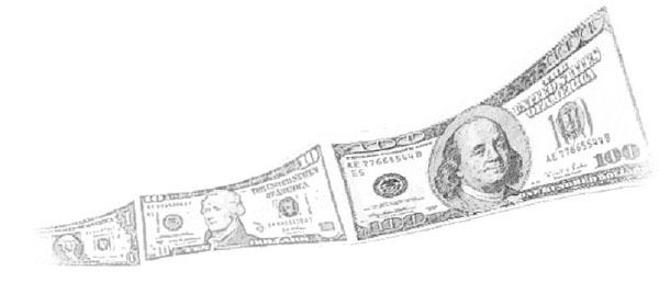 money growing
